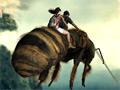 Journey 2: The Mysterious Island - Giant Bee Escape