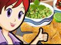 Online Game Nachos & Dip: Sara's Cooking Class