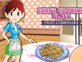 Juego en línea Sara's Cooking Class: Pasta Carbonara