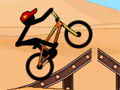 Online Game Stickman Freestyle BMX