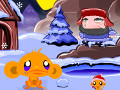 Online Game Monkey Go Happy North Pole