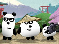 Online hra 3 Pandas in Japan