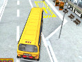 Online hra 3D Parking School Bus Mania