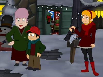 Online hra A Christmas Blackout