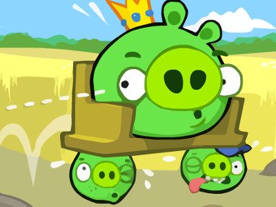 Online hra Bad Piggies Online 2016