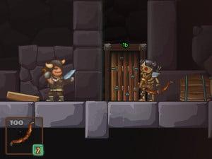 Online hra Baron's Door