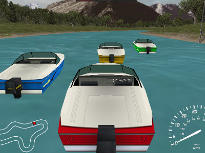 Online hra Boat Drive