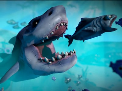 Online Game Feed and Grow: Fish Simulator