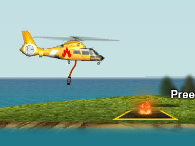 Online Game Fire Helicopter