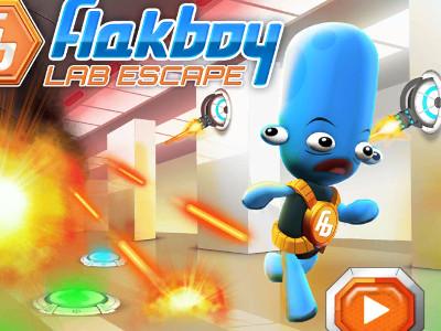 Online hra Flakboy Lab Escape