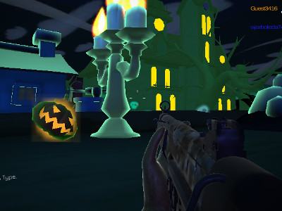 Online Game Halloween Multiplayer Shooter