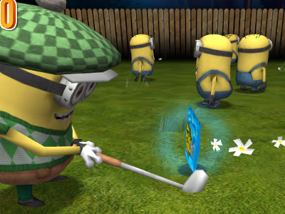 Online hra Minion Golf