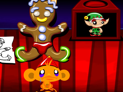 Online Game Monkey GO Happy Elves