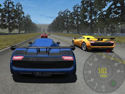 Online hra Speed Racing Pro