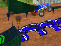 Online hra Stunt Monster 3D