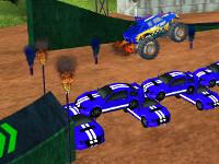 Online Game Stunt Monster 3D