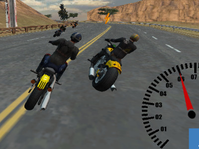 Online hra Bike Riders