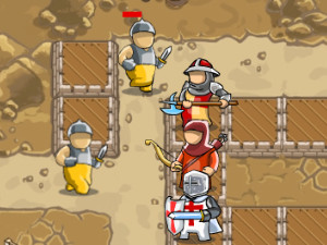 Juego en línea Crusader Defense: Level Pack 2