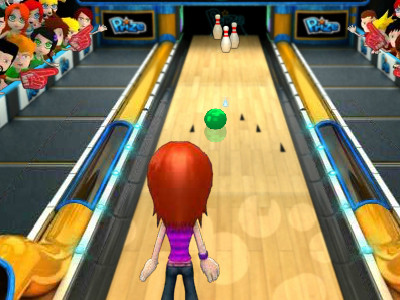 Online hra Disco Deluxe Bowling