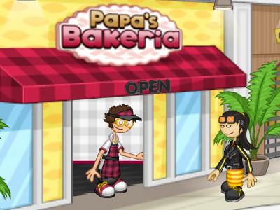 Online Game Papa's Bakeria