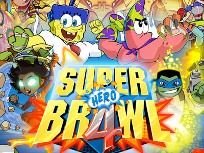 Online hra Super Brawl 4: Hero