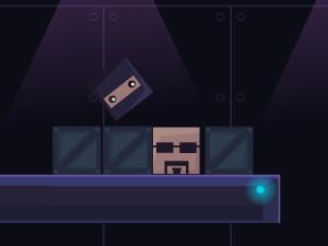 Online hra Super Ninja Block