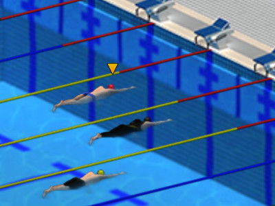 Online Game Swimming Pro