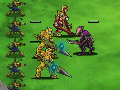 Online hra Terrestrial Conflict