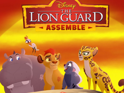 Online hra The Lion Guard