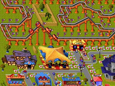 Online hra Theme Park