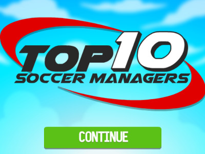 Онлайн-игра Top 10 Soccer Managers