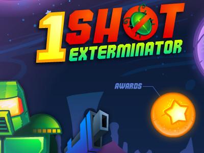 Online Game 1 Shot Exterminator