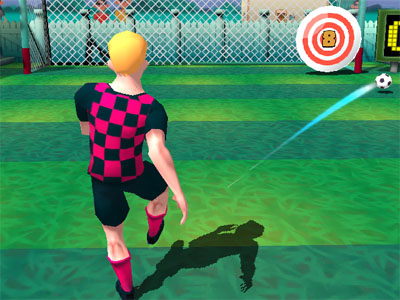Online Game 10 Shot Soccer