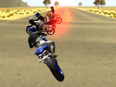 Онлайн-игра 3D Moto Simulator 2