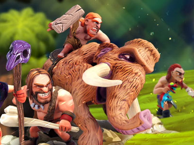 Online Game Age of Cavemen