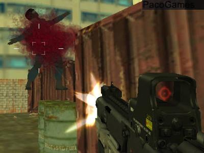 Online Game Battle S.W.A.T vs Mercenary