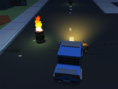 Online Game Blocky Zombie Highway
