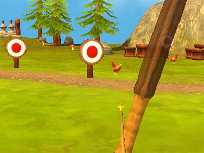 Online hra Bow Island