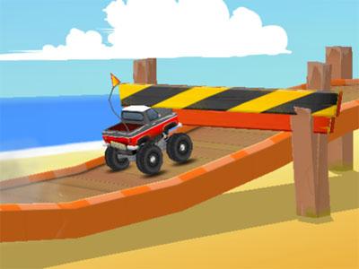 Online hra Endless Truck