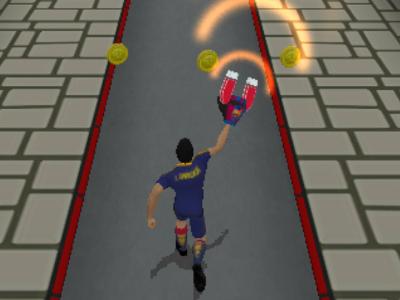 Juego en línea FC Barcelona Ultimate Rush