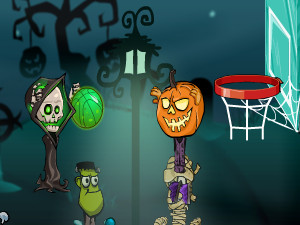 Online hra Halloween Basketball Legends