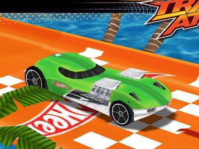 Online hra Hot Wheels Track Attack