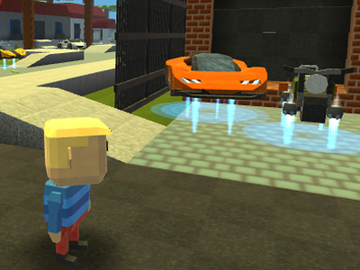 Online Game Kogama: Grand theft auto