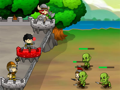 Online hra Little Sentries