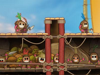 Online Game Moana: Kakamora Kaos