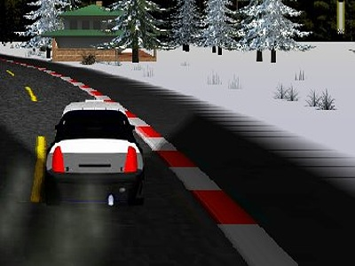 Online Game Night Race Rally