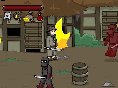 Juego en línea Ninja Brawl