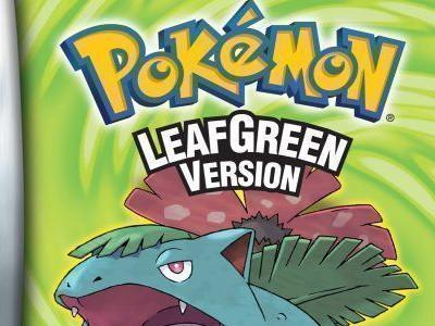 Online hra Pokemon LeafGreen Version