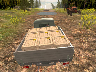 Online Game Russian Offroad Pickup Drive