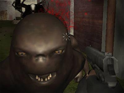 Online Game Slenderman Must Die: Industrial Waste